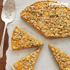 Pumpkin Streusel Tart: Capture the sweetness of the season with a dessert inspired by pumpkin pie. The buttery, nutty topping and thick crust make it heartier and crunchier—and dare we say, more delicious?—than the traditional finale to a Thanksgiving meal.