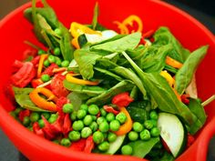 salad recipes, strike salad, side salads