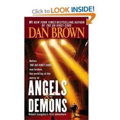 """""""Angels & Demons"""" by Dan Brown"""