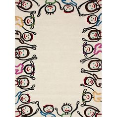 I pinned this Circle of Friends Rug from the Colorful Kids Rugs event at Joss and Main!