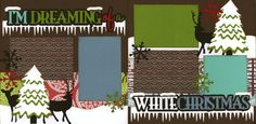 I'm Dreaming Of A White Christmas Page Kit