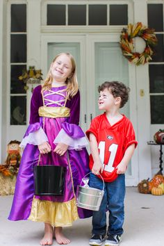 Get ready for a night of trick or treating with fun kids costumes from the Cracker Barrel gift shop!