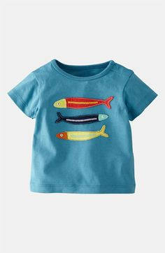 Mini Boden 'Big Appliqué' T-Shirt (Infant) available at Nordstrom