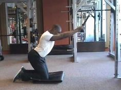 New back exercise.  Maxi lats