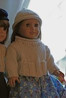 Molly's Knitting: A Dolly Sweater and Hat for Emily's Emily