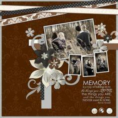 Memory Divine Digital #Scrapbook Layout Page Idea from Creative Memories    http://www.creativememories.com  #scrapbooking