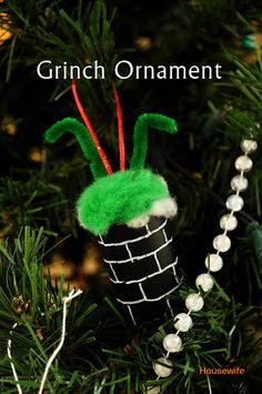 Grinch Christmas Ornament