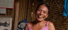 Maria Coc, a Trickle Up participant from Cahabon, in northern Guatemala smiles as she proudly shows us the small shop she set up in her remote village. She sells everyday goods, personal care products, and toys.