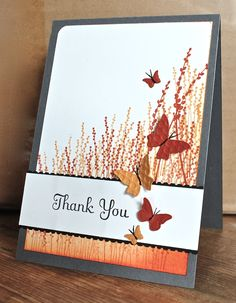 Stampin' Up ideas and supplies from Vicky at Crafting Clare's Paper Moments: Pocket Silhouettes thank you