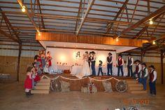 A country Western wedding reception>> http://my.gactv.com/great-american-weddings/multigallery.esi?soc=pinterest