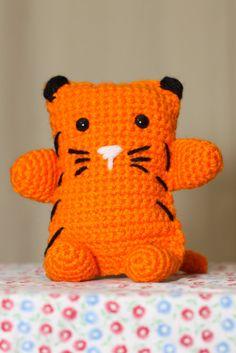 """Handmade Crocheted Amigurumi Cat. $8.00, via Etsy."" #Amigurumi  #crochet"