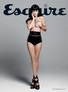 Katy Perry for Esquire Magazine | 42 Absolutely Stunning Magazine Covers | From up North