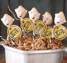 Goonies Cake Pops. Just fantastic.