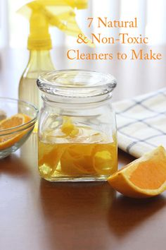 Natural & Nontoxic Cleaners