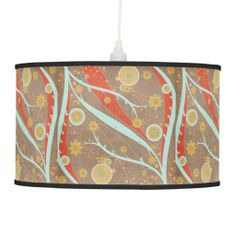 Mod Summer Graphic Lampshade