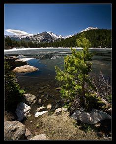 On the Shore of Bear Lake by Dan.Heacock, via Flickr; Rocky Mountain National Park, Colorado