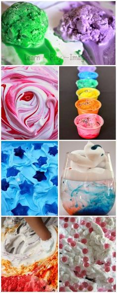 25+ awesome ways to play with shaving cream