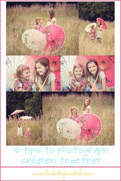 tips to successfully photograph children together