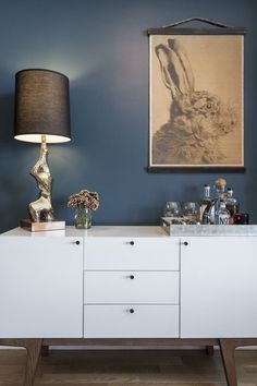 Sheena's Unbelievable View in Dumbo— featuring Dumont Media Console from west elm