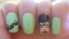 Daria nail art.