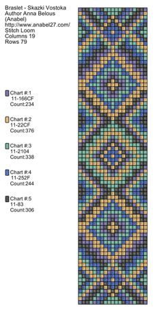loom pattern  http://anabel-beadpatterns.blogspot.com/