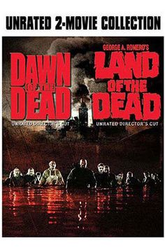 1978 DAWN OF THE DEAD ~ Became an instant cult classic.  Land of The Dead was released in 2005 by George A. Romero.