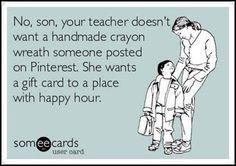 Teacher Appreciation Week. Imagine the gift cards when @Meredith Dlatt Ziegler is district teacher of the year!