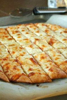 Garlic cheesey bread from little ceasars ♡