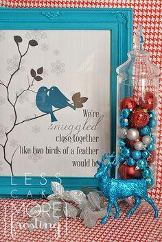 Wanna Sleigh Ride? holiday, bird, sleigh ride, printabl poster, christma