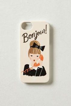 bonjour! iPhone 5 case cute!