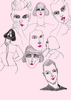 boys need lip gloss too by jiiakuann, via Flickr