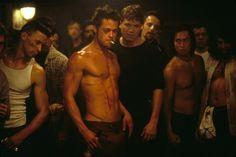 Fight Club Brad Pitt = Hot.