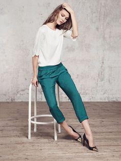 Karlie Kloss for Mango's Winter 2012 Catalogue #lookbook #fashion