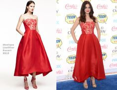 Odeya Rush In Monique Lhuillier – 2014 Teen Choice Awards