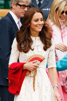Kate Middleton in a Zimmerman dress