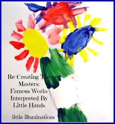PreKandKSharing: Re-Creating The Masters: Famous Works Interpreted By Little Hands