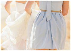 Baby Blue Bridesmaid Dress