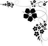 Flower Flourishes Clipart