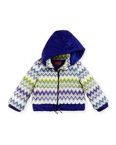 Missoni Zigzag Puffer Coat