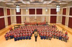 "United States Marine Barracks  John Phillip Sousa Hall  ""The President's Own"" United States Marine Band  Washington, D.C."