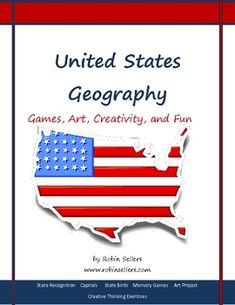 Make US Geography fun with multiple memory game and a creative secret state writing/art project. {93 pages and on sale at TpT for 28% off may 6-8 with promo TAD12}