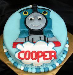 birthday parti, thomas the tank engine cake, thoma cakesara, cakesara eriksson, cake idea, cake inspir, birthdays, thomas the tank cake, thomas cakes
