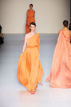 The LANE Article: Orange Shades http://www.thelane.com/the-guide/fashion/bridesmaids/orange-shades