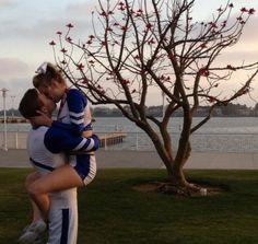 Relationship Goals Football And Cheerleader