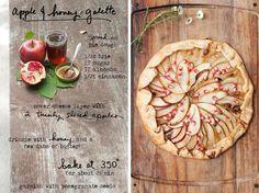 apple-&-honey-galette