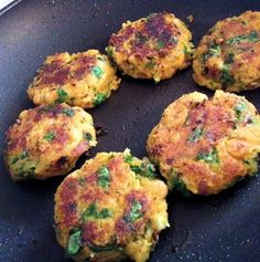 Butternut squash and kale patties