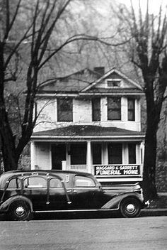 Funeral Home and Limo   The original Maggard and Garrett funeral home, (now Maggard Brothers) on East Main Street. Kentucky