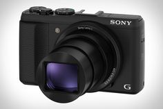 """Sony Cyber-shot HX50 Camera    The Sony Cyber-shot HX50 Camera ($450) packs an impressive 30x optical zoom into a body that's just 4.4"""" x 2.6"""" x 1.2"""" and weighs under 10 oz, making it the smallest and lightest 30x zoom on the market. Other features include enhanced Optical SteadyShot image stabilization, a 20.4 megapixel sensor, a Bionz image processor, built-in Wi-Fi, dedicated exposure compensation and P/A/S/M mode dials, and the ability to capture Full HD movies at 60p."""