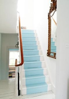 painted stair
