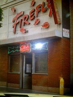 The old Firefly bar on Vine near Hollywood Blvd